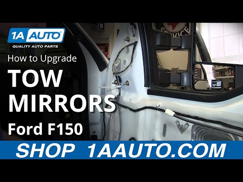 How To Upgrade Tow Mirrors 04 08 Ford F150 Youtube