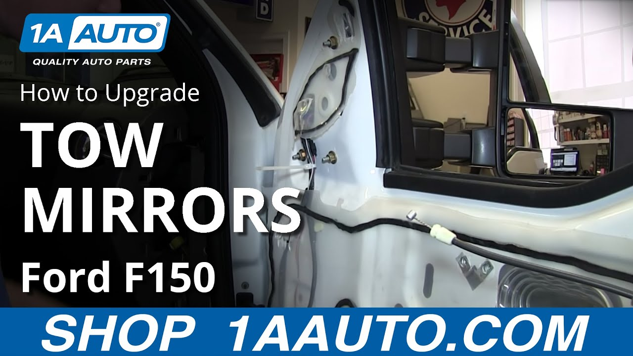 how to upgrade tow mirrors 04-08 ford f150