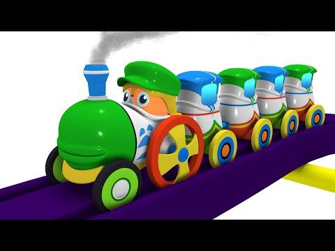 The Magician: Toy Factory Choo Choo Carton for Kids | Thomas The Train
