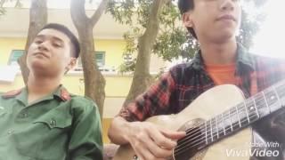 Guitar cover Phó Thác-Gia Ân (Lời ca Lính cụ Hồ)
