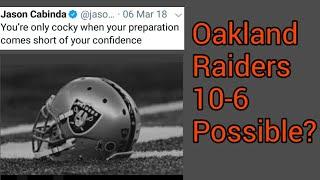 Oakland Raiders 2019 Win/Loss Prediction