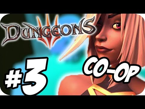 Dungeons 3 Co-op Gameplay W/ Frazzz ► GETTING THE DEMONS!