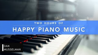 Two Hours of Happy Piano Music 😀