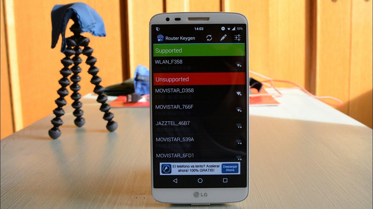 router keygen para descargar android