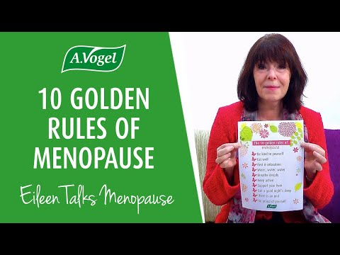 10 golden rules for a better menopause