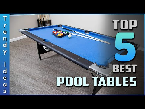 Top 5 Best Pool Tables Review In 2021 | Our Recommended