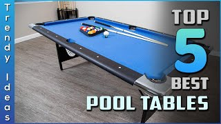 Top 5 Best Pool Tables Review In 2021 Our Recommended