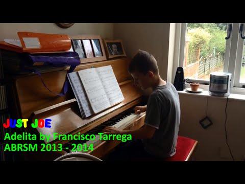 Adelita Grade 5 Piano by Francisco Tarrega ABRSM 2013 - 2014