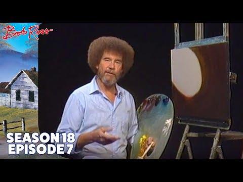 Bob Ross - Golden Morning Mist (Season 18 Episode 7)