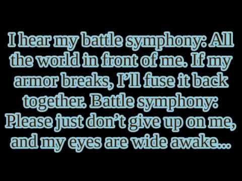 "Linkin' Park - ""Battle Symphony"" lyrics"