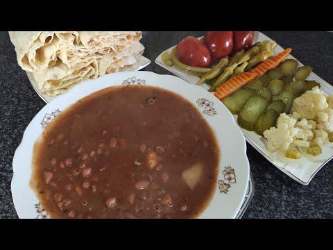 88. Կարմիր #լոբով #ապուր. #Суп из красной #фасоли.