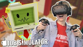 CHAOTIC COOKING IN VR! | Job Simulator: Gourmet Chef (HTC Vive Gameplay)