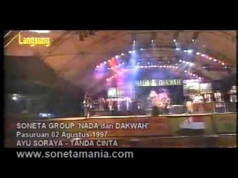 TANDA CINTA - SONETA feat AYU SORAYA