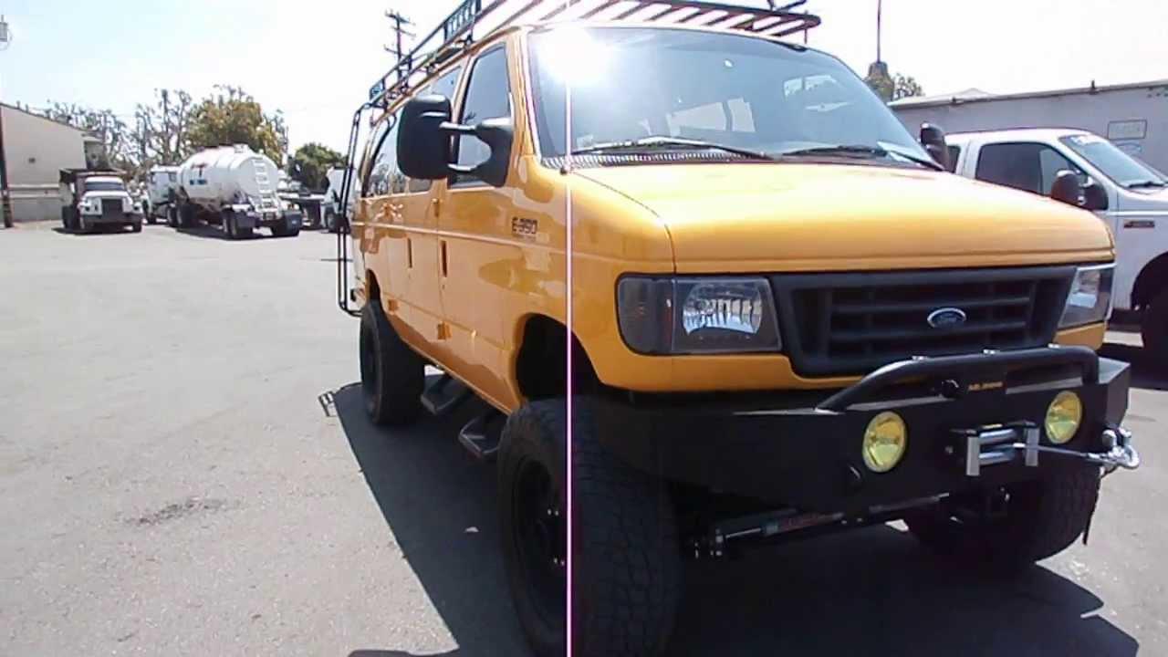 1996 Ford E-350 Diesel Van 4x4  U0026quot Big Yellow U0026quot