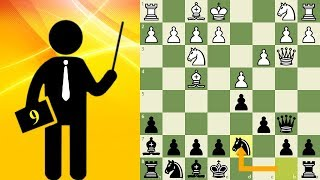 Standard chess game with commentary #9 - Queen Pawn Game