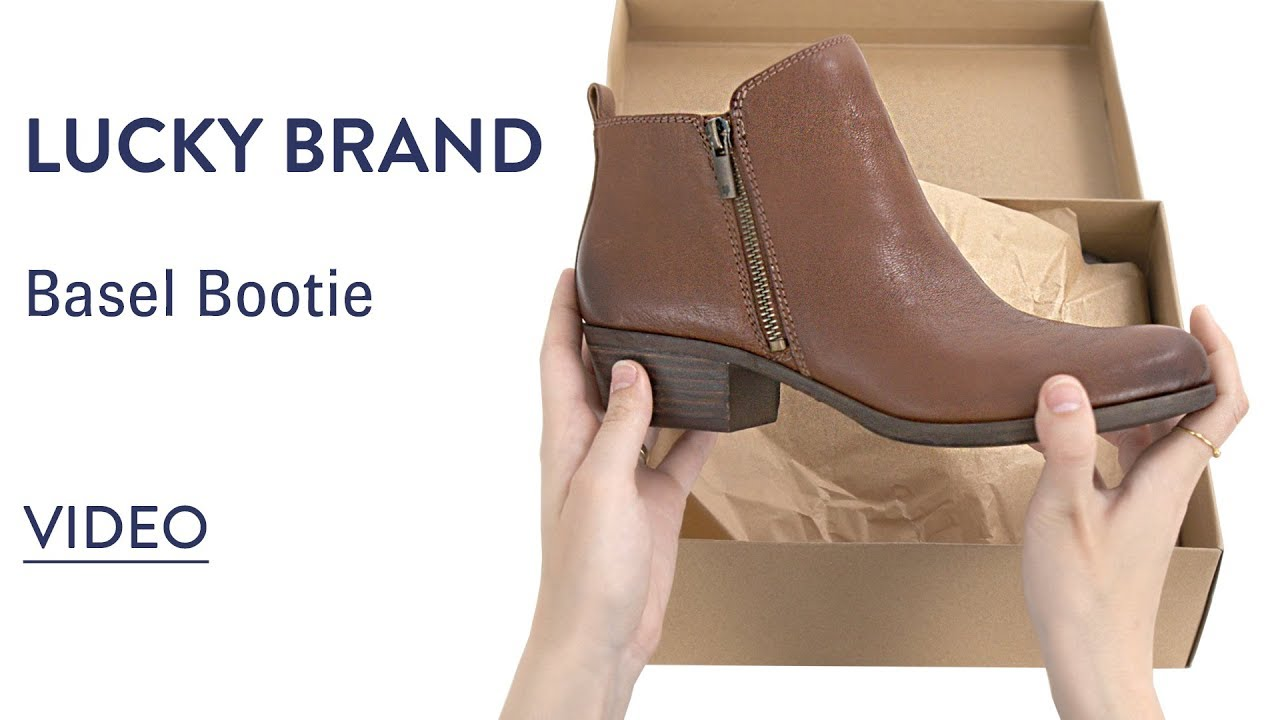 58d922e46342 Womens Lucky Brand Basel Bootie: Sale Up to 57% Off - FREE Shipping