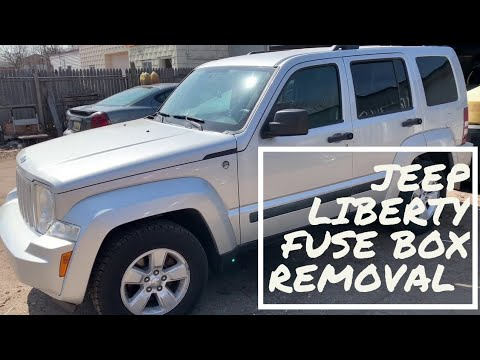 jeep liberty fuse box removal /tipm removal