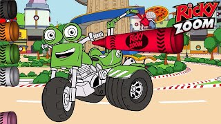 Ricky Zoom ❤️ Best of DJ! | Drawing and Colouring for Kids | Vehicles For Kids | Nick Jr.