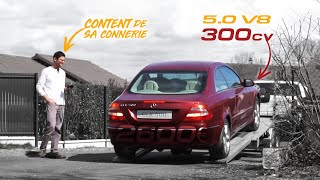I buy a broken CLK500...For 2600€. EP01