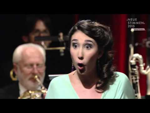 "NEUE STIMMEN 2015 - Final: Miriam Albano sings ""Nobles seigneurs, salut!"", Les Huguenots, Meyerbeer"