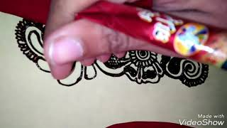 Beautiful mehndi Design For Beginners/ Stylish Heena Mehndi Design