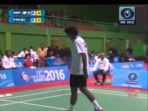 azeem sarwar vs dipesh damni south asian games 2016