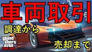 【GTA5】オンライン オフィスでの金稼ぎ!車両取引 調達から販売まで