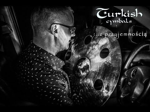 Turkish Cymbals Setup. Endorser Pawel Twardoch