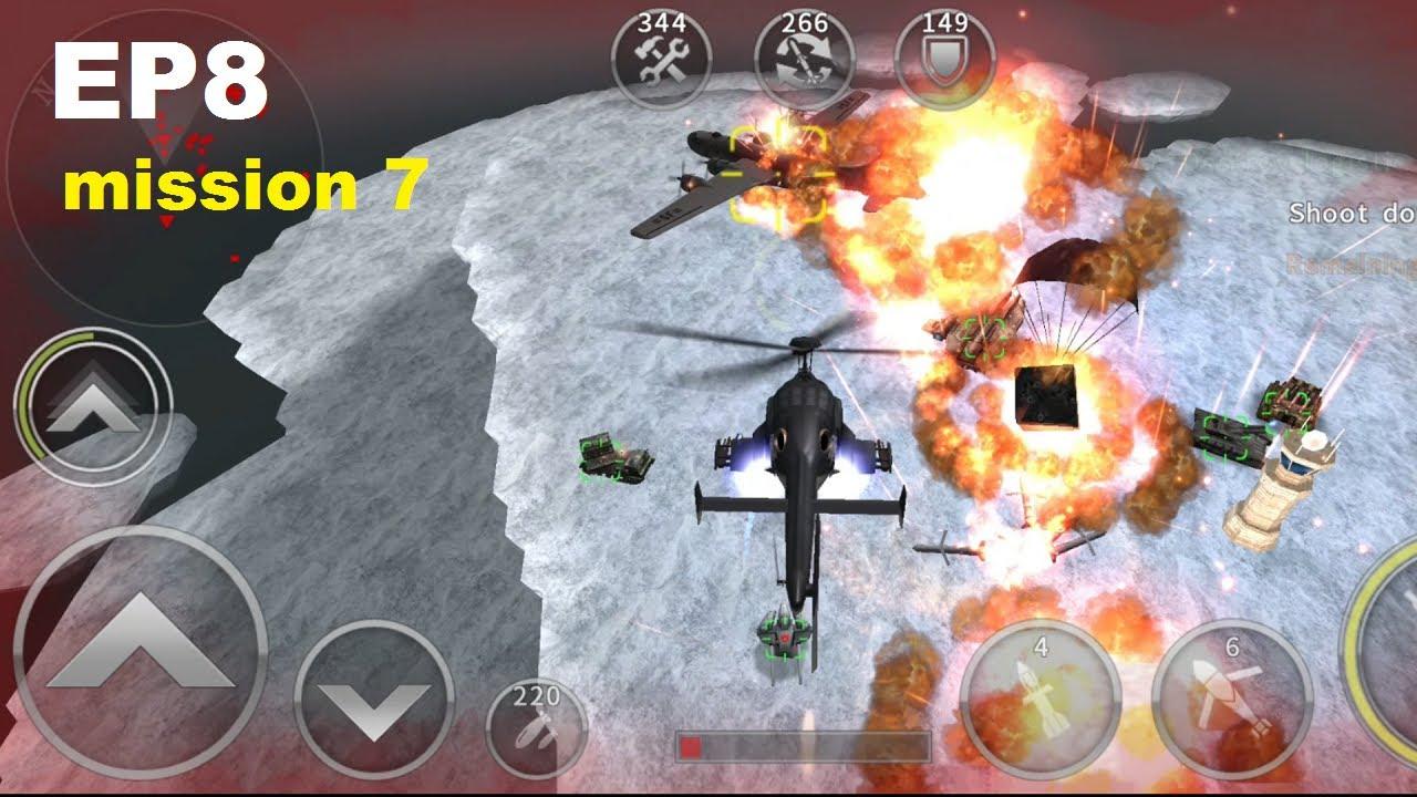 Download AIRWOLF in episode 8 mission 7   gunship battle 2021