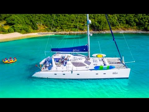 Catamaran Bliss BVI Yacht Charter Vacation in the Virgin Islands