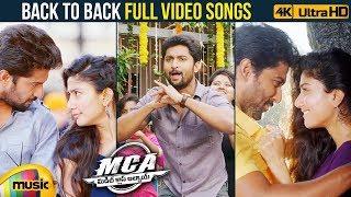 MCA Video Songs JUKEBOX   Back to Back Video Songs   Nani   Sai Pallavi   DSP   2018 Telugu Songs