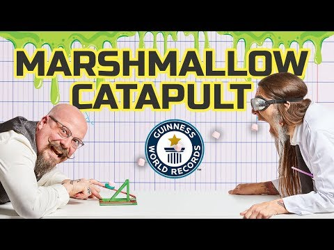 Marshmallow DIY Catapult Challenge! - Science & Stuff