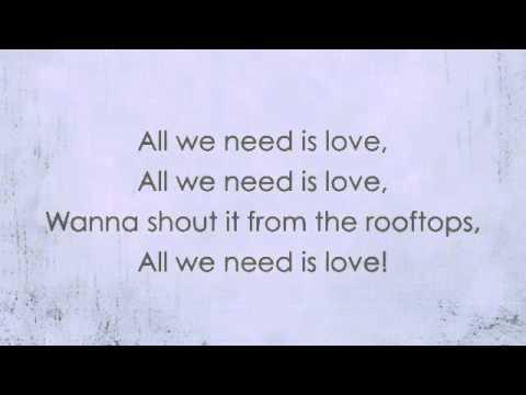 All We Need Is Love - Ricki Lee (With Lyrics)