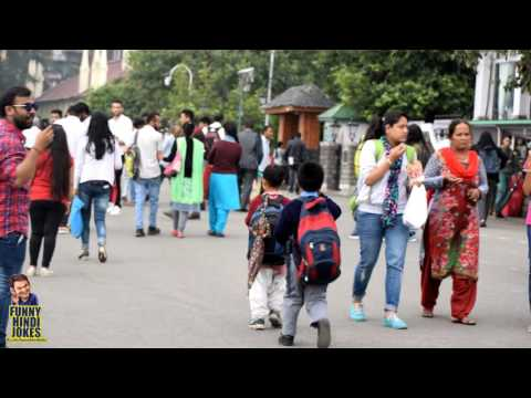 Shimla HD video 2017, christ church, The Ridge and mall road market
