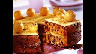 """Изысканная выпечка-Марципановый торт""""Симнел"""""""