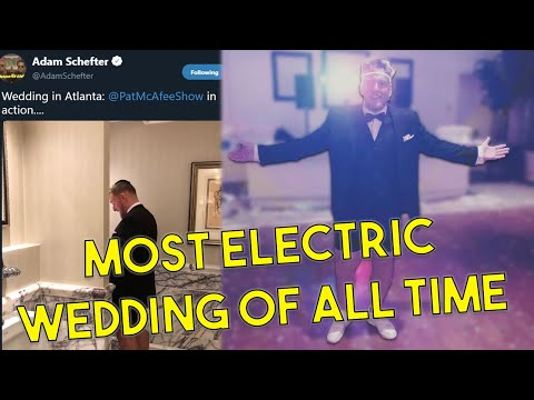 Pat McAfee Talks About The Most WILD Wedding Of All Time...