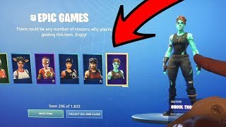 *NEW* How To Get EVERY SKIN in Fortnite FREE! (JENSENSNOW) Nogo's GLITCH Unlimited FREE ITEMS!
