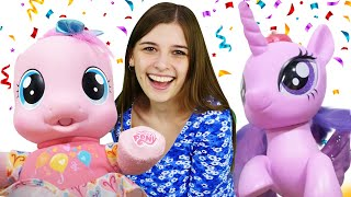 Май Литл Пони в видео онлайн - Ищем Пинки Пай и Флаттершай! - Лучшие игры для девочек с Той Клаб.