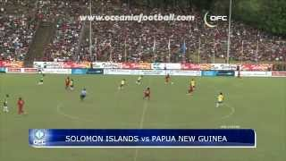 2012.06.02 HIGHLIGHTS OFC NATIONS CUP -SOL vs PNG