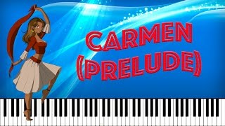 Video Carmen Prelude - Georges Bizet (Tutorial Piano Midi Partitura Gratis) download MP3, 3GP, MP4, WEBM, AVI, FLV September 2018