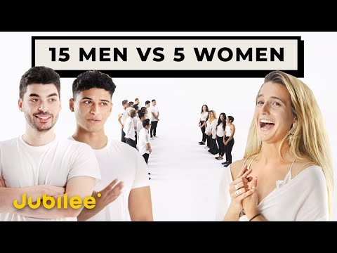 15 Men Compete for 5 Women