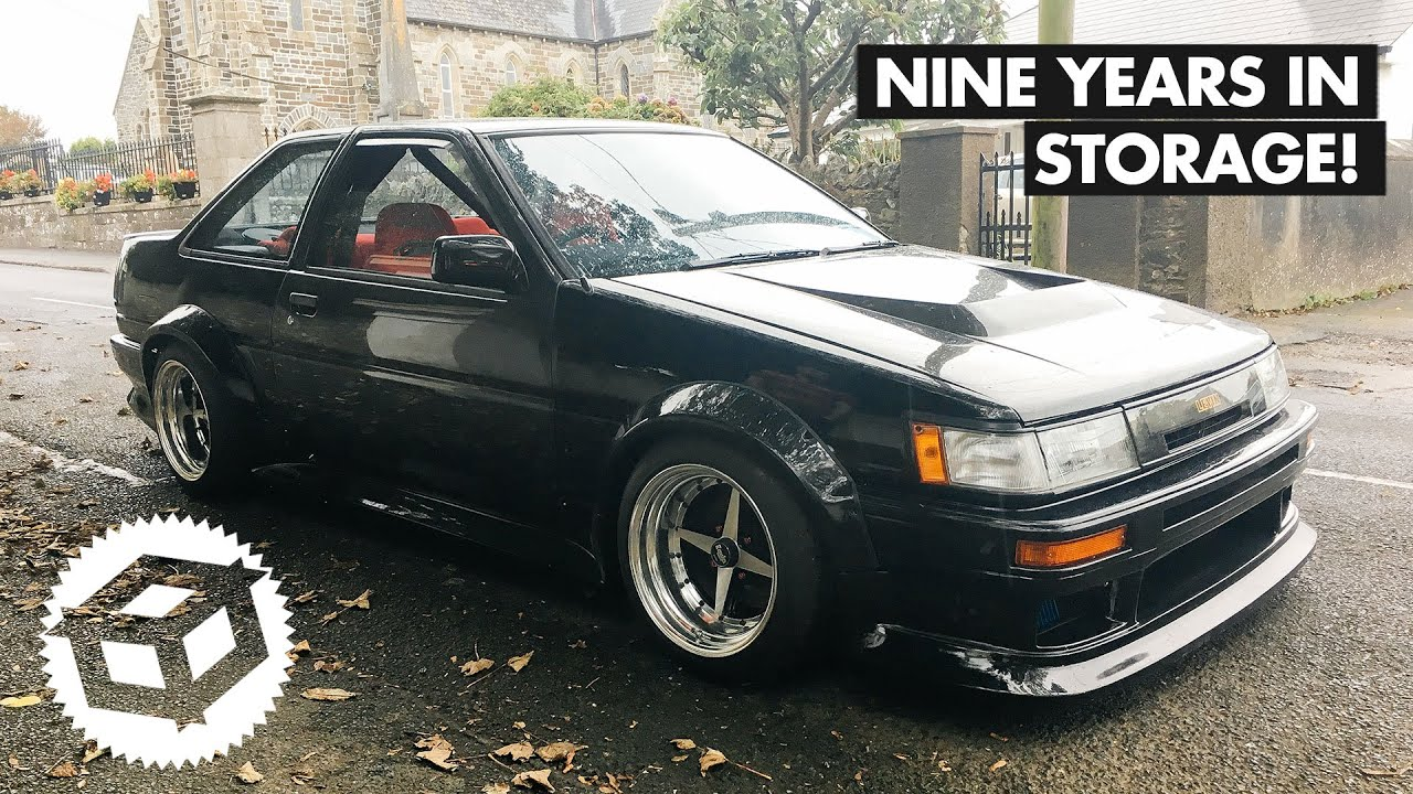 An Epic AE86, Nine Years In Hibernation Comes To Our BBQ    Juicebox Unboxed #105