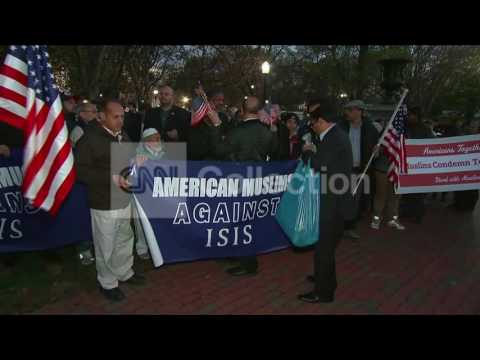 DC: AMERICAN MUSLIMS RALLY AGAINST ISIS