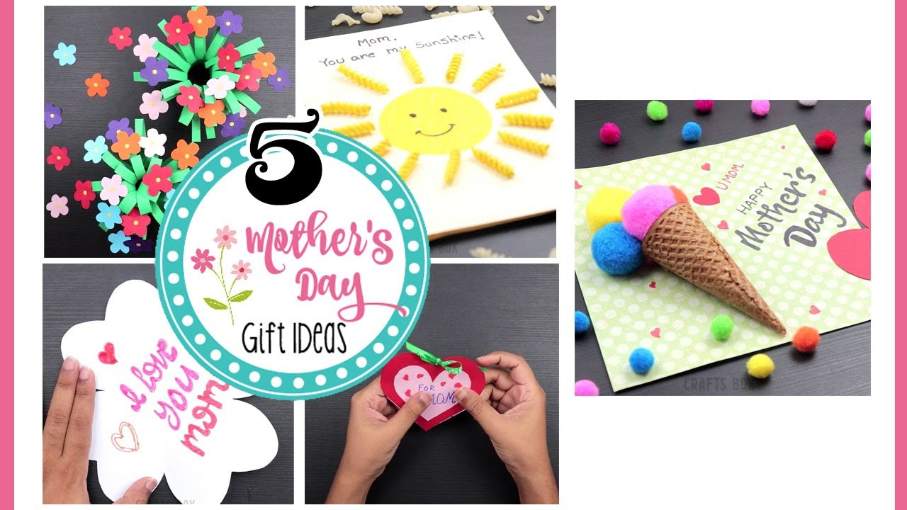 5 Beautiful Mother S Day Gift Ideas In Lockdown Mother S Day Gift Cards 2020 Youtube