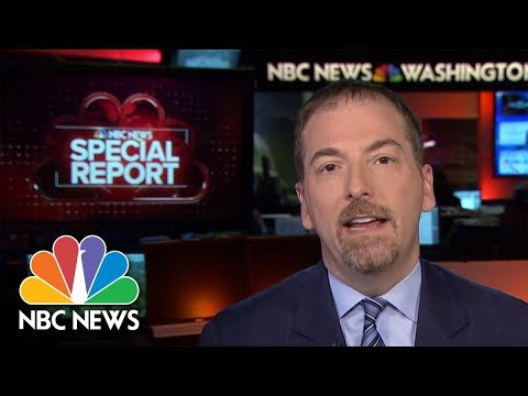 Chuck: Robert Mueller's Statement Is A 'Rebuttal' To Bill Barr | NBC News