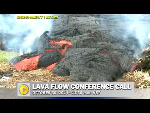 Lava Flow Conference Call (Oct. 30)