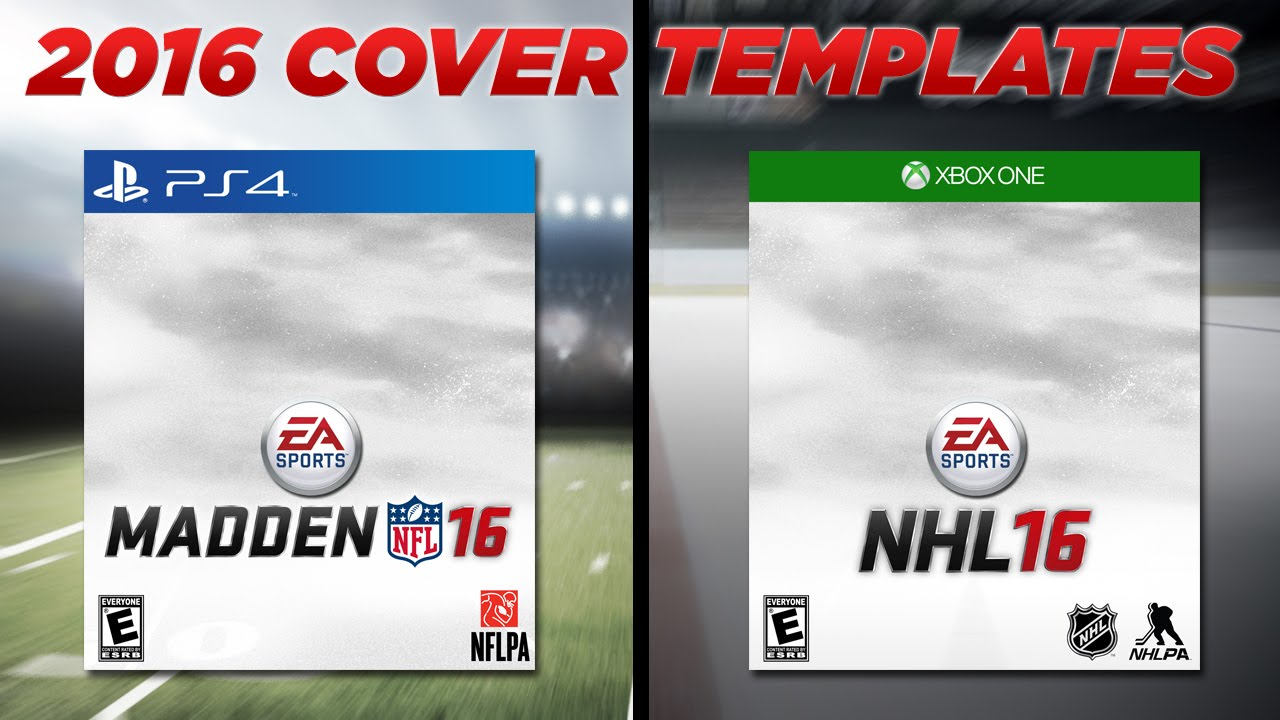 madden nfl 16 nhl 16 cover templates