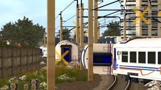 Kompilasi Kereta Api Anjlok #2-Trainz Simulator
