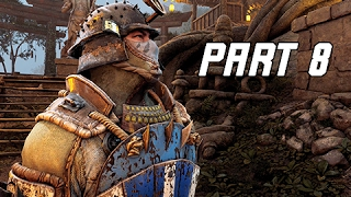 FOR HONOR Walkthrough Part 8 - SAMURAI Campaign Story (PS4 Pro Let's Play Gameplay Commentary)