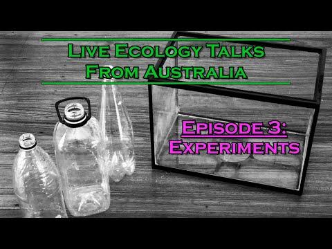 Live Ecology Talks: Ep 3 - Experiments